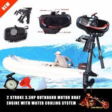 Hot Sale HANGKAI 3.5HP Outboard Motor Boat Engine 2 Stroke With Water Cooling System