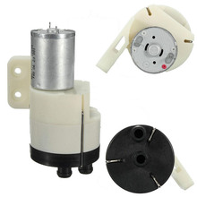 DC 12V-24V High Pressure Small Micro Diaphragm Vacuum Air Water Pump With 1M Pipe For Hardware Tool