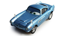 Pixar Cars 2 Finn McMissile Metal Diecast Toy Car 1:55 jugetes slot brio car pixar cars miniaturas juguete toys for children