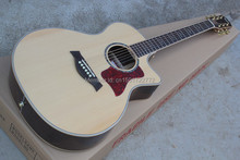 41-inch round wood color 814CEacoustic guitar ballad, Spruce,  fishman pickup EQ. Can be customized on request. In Stock