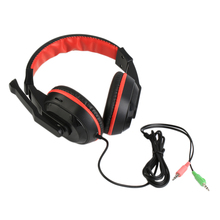 3.5mm Gaming Stereo Headset Earphone Headphones For Xiaomi MP3 MP4 Mic PC Computer Laptop 770 Black Auriculares Headset(China)