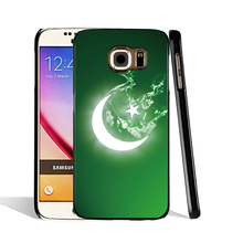05399 digital pakistan flag normal pakistani flag cell phone case cover for Samsung Galaxy S7 edge PLUS S6 S5 S4 S3 MINI