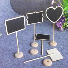 Chalkboard Backboard Wedding Favor Wedding Party Table Decor Message Number Tag all For Wedding