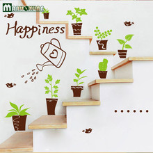 Foreign Trade Happiness Kettle Pot Small Specification Stickers At Will The Third Generation Can Remove The Wall Stickers(China)