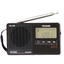 TECSUN PL-118 Ultra-Light Mini Radio, PLL DSP FM Band Radio(China)