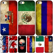 slovak mexico canada chile colombia flag cell phone Cover case for iphone 6 4 4s 5 5s SE 5c 6 6s 7 plus case for iphone 7