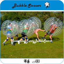 Popular In South American 1.5m TPU Inflatable Human Knock Ball For Adults, Bubble Football Soccer Zorb Ball Zorbing Bumper Ball