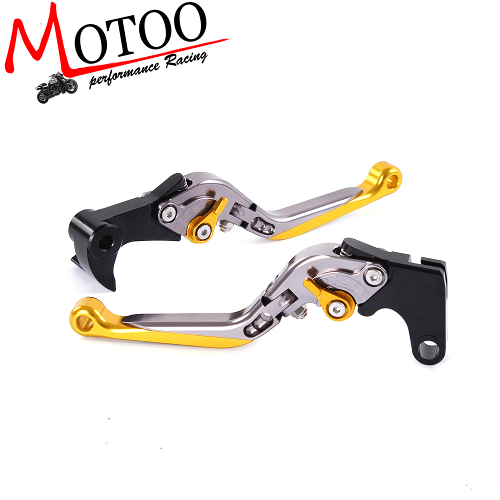 Motoo - R15 Y-688 Adjustable CNC 3D Extendable Folding  For YAMAHA YZF R1/R1M 2015-2016<br><br>Aliexpress