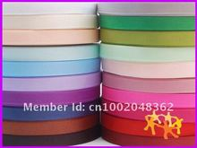 "100yards 3/8""(inch) 9mm Grosgrain Ribbon Lots for Hair Bows 20 Color Mixed Bulk -Free Shipping."