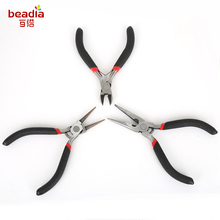 3pcs/set Jewelry Making Pliers Set Stainless Steel Needle Nose Pliers Jewelry Making Hand Tool Black 11-13cm Jewelry Tool Sets(China)
