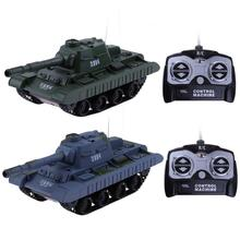 Buy 1:30 4CH Wireless Remote Control Tank Battling Tank Boys Gifts Fighting Shooting Military Tank Model Children Kids RC Toys for $19.29 in AliExpress store