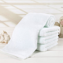 1Pc New Soft 100% Cotton 32*72cm Hotel Bath Towel Washcloths Hand Towels Microfiber Toalha De Esportes Towel(China)