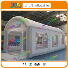 Free shipping inflatable paint booth / inflatable spray booth inflatable car painting tent / Portable spray paint booth for sale
