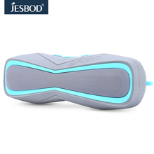 Jesbod j17 sports bluetooth speaker IPX7 waterproof design portable wireless loudspeaker sound system 3D stereo music surround