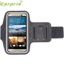 New For HTC One M9 Sports Gym Running Armband Colorful Adjustable Pouch Arm Band Case Cover for HTC Mobile Phone Bag A22(China)