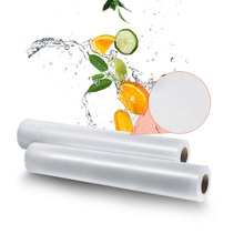 Best Rolls Vacuum Sealer Food Storage Bag 12 15 20 25x500CM Saran Wrap Food Vacuum Sealer Packaging Bag For Sealer Vacuum Packer(China)