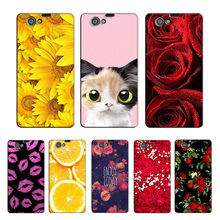 Buy Case Sony Xperia Z1 Compact Girl Phone Case Cover Hard Plastic Phone Bag Sony Xperia Z1 Mini M51W D5503 Flower Coque for $3.04 in AliExpress store