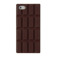 3D Chocolate Bar Look Soft Silicone Case Cover Skin For iPhone 5 5S  Drop Shipping  2017 New Arrival