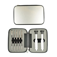 12pcs/ set 102Y aluminum bag screwdriver set with 12 kinds of head used for mobile / glasses / camera's repairing