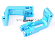 HSP 860009 Blue Alum Front Wheel Hub Carrier 2P RC 1:8 Nitro Car Truck Upgrade Parts