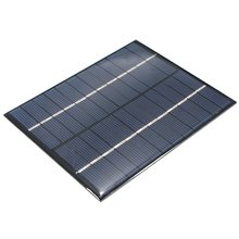 Universal 12V 2W 160mA Polycrystalline Silicon Solar Panel Module Cells for Phones Charger DC Battery DIY 136x110mm High Quality