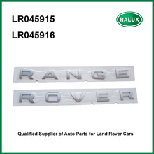Free shipping LR045915 LR045916 front bonnet car name plate for Range Rover Sport auto brand letter sticker auto parts promotion