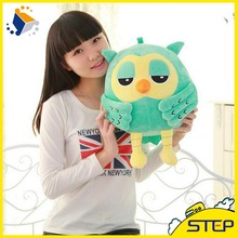 Free Shipping 20CM Popular Night Owl Plush Toy Soft Owl Doll for Kids and Girls Birthday Valentine's Day Gifts ST100(China)