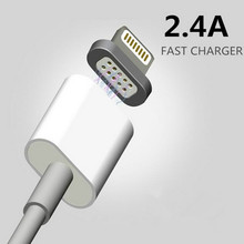 2.4A Magnetic Cable Micro Type-C Usb Data Cable Apple iPhone 6s 7 Plus Charging Cable Android huawei Mobile Phone