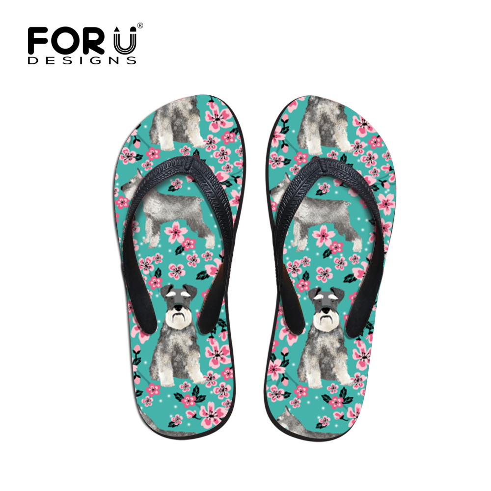 Men's Shoes Forudesigns Men Slippers Summer Beach Water Flip Flops Cute Pug Dog Prints Soft Flat Sandals Male Non-slip Home Flipflops