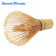 Sweettreats Bamboo Matcha Green Tea Powder Whisk Brush Tool Tea Semi-Hand Made Eco-Friendly Kitchen Mixing Tool Accessories(China)
