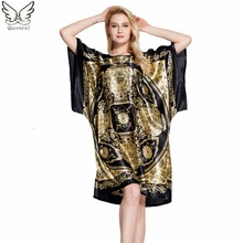 Buy Sleepwear women Nightgowns nightwear Pyjama Women home clothing sleepwear female Nightdress sexy lingerie Gown Robe Bathrobe