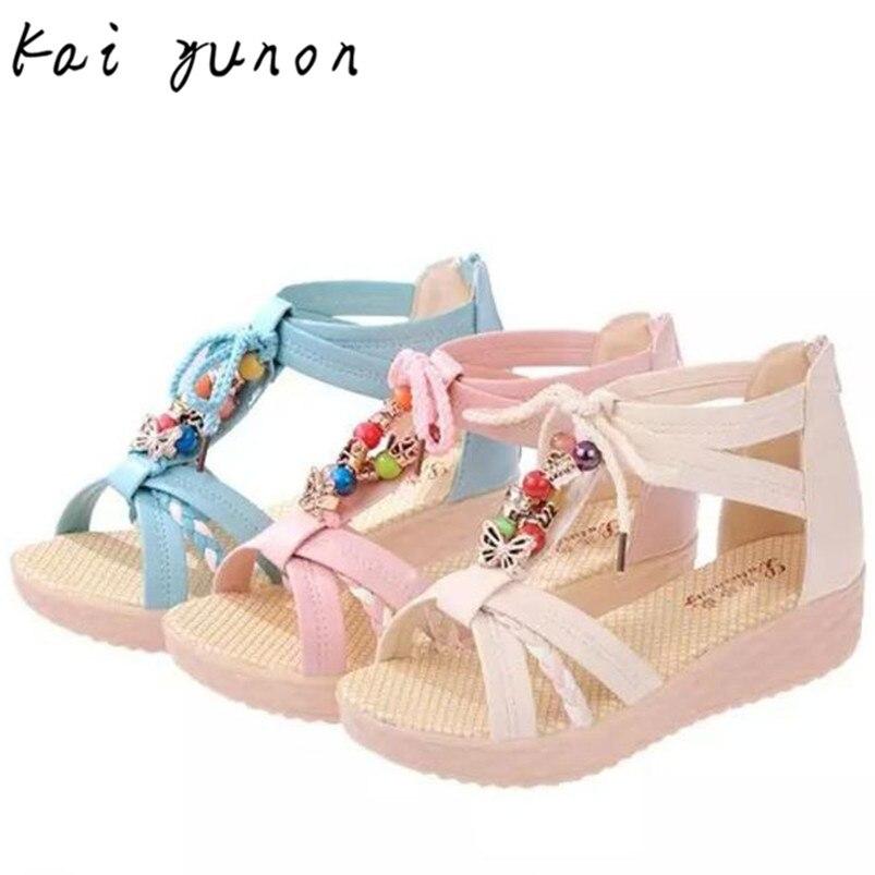 kai yunon Summer Women Sandals Beach Flat Shoes with Sweet Bow For Girls Oct 11<br><br>Aliexpress
