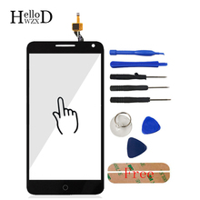 Flex Cable For Alcatel One Touch Pop 3 5.5 OT5025 5025D 5025 Touch Screen Panel Digitizer Lens Sensor Outer Front Glass Adhesive(China)