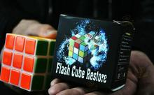 Enchanted cube,Flash Cube Restore,Magic Tricks,Stage Magic,Mentalism,close up,Accessories,Comedy,toys