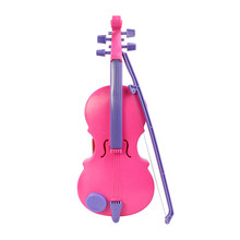 Pink Toy Musical Instrument New Magic Child Music Violin Children's Musical Instrument Kids Funny Gift Toy Dropshipping AG09