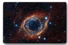 Custom 40x60cm Door Mat For Living Room The eye of god mysterious planet universe Doormat Bedroom Rug Floor Mats Christmas Gift