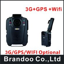 Free shipping 3g+gps+wifi POLICE CAMERA, 1080P, board worn camera designed for police used