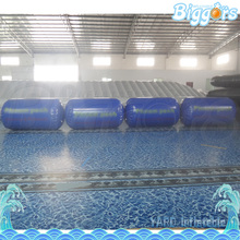 Sea Shipping Oil Drums Inflatable Air Ball Bunkers Paintball Obstacle With Air Pump(China)