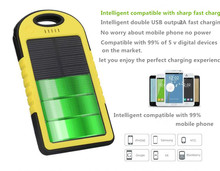 cheap portable mobile battery charger slim solar power bank  5000 mAh not10000mah power bank
