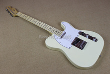 Hot!!!  creamy white tele guitar, 22 frets maple Fingerboard Chinese tl guitar,high quality free shipping tl electric guitar