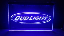 b01 Bud Light Beer Bar Pub Club NR LED Neon Light Sign vintage home decor(China)
