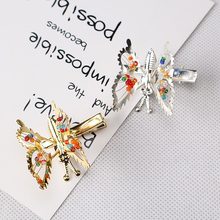 New Cheap Price Girls Lovely Hollow Out Bow Butterfly Barrette Hairpins Headpiece Barrettes Hair Accessories Hair Clip(China)