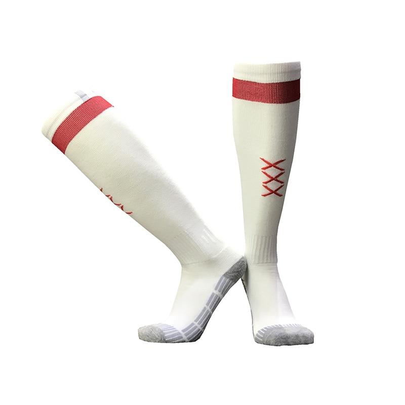 NO Logo National Team Germany Football Barreled Knees Slip Bottom Thick Stocking Spain Soccer Socks Compression Socks 14