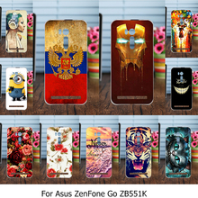 Phone Covers Cases For Asus ZenFone Go TV ZB551KL X013DB 5.5 inch Case Painted TPU Plastic ZB551KL Cover Shell Housing Bags
