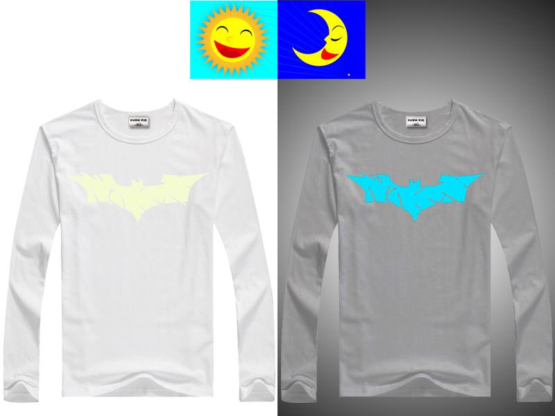 DMDM PIG Luminous T-Shirts For Girls Boys Long Sleeves Tops Kids Clothes Baby TShirt Children Toddler T Shirt 10 11 13 14 Years 7