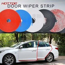 Hot Car Styling Door Wiper strip Crash Strip Protection For Audi BMW VW Toyota Mazda Kia Hyundai Ford Accessories Car-styling