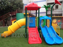Exported to Russia EN1176 Approved Children Playground Set HZ-14002c 20 Years' Manufacturer
