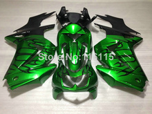 Fit for Kawasaki Ninja fairings 250r 2008-2014 injection molding 08-14 ZX250 black flames green motorcycle fairing kit NZ30