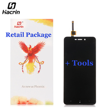 hacrin For Xiaomi Redmi 4A LCD Display + Touch Screen Digitizer Screen Panel Replacement For Xiaomi Redmi 4A Pro Global Version