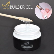 Transparent Clear Builder Gel Camouflage UV Gel Acrylic For Nail Art Extension French Manicure Vernish Gel Perfect Quality(China)